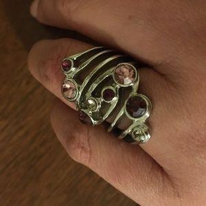 Jewelry - Multicolored stone ring